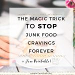 If you have ever followed any diet then you are probably looking at the food as 'good' or 'bad'. This is the problem many of us have. We also put certain food on the forbidden list. But what happens when you do that? Well, you crave it. And you crave it badly. All the time. (Maybe not all the time (whew!), but definitely a lot.)