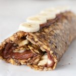 Raw Nutella Banana Roll