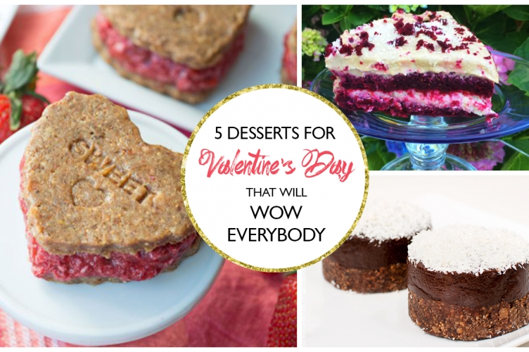 5 Raw Desserts That Will Wow Everybody (Great for Valentine's Day!)