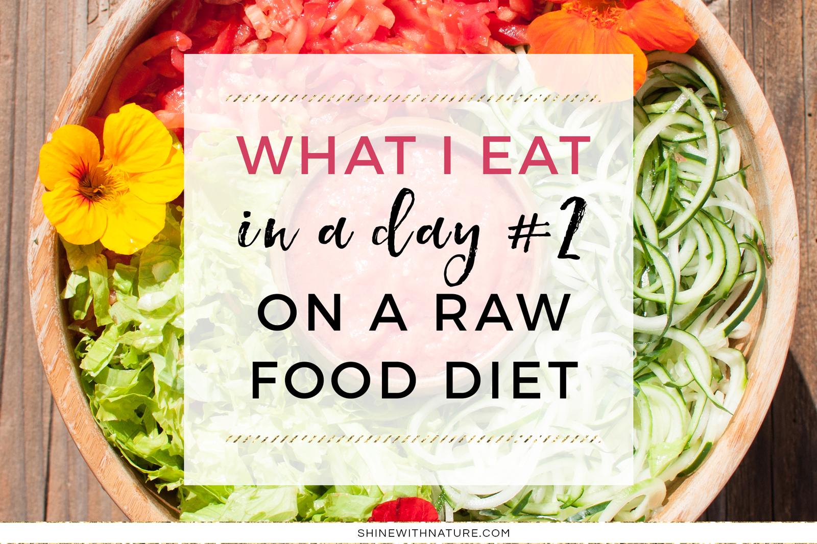 low fat raw food diet