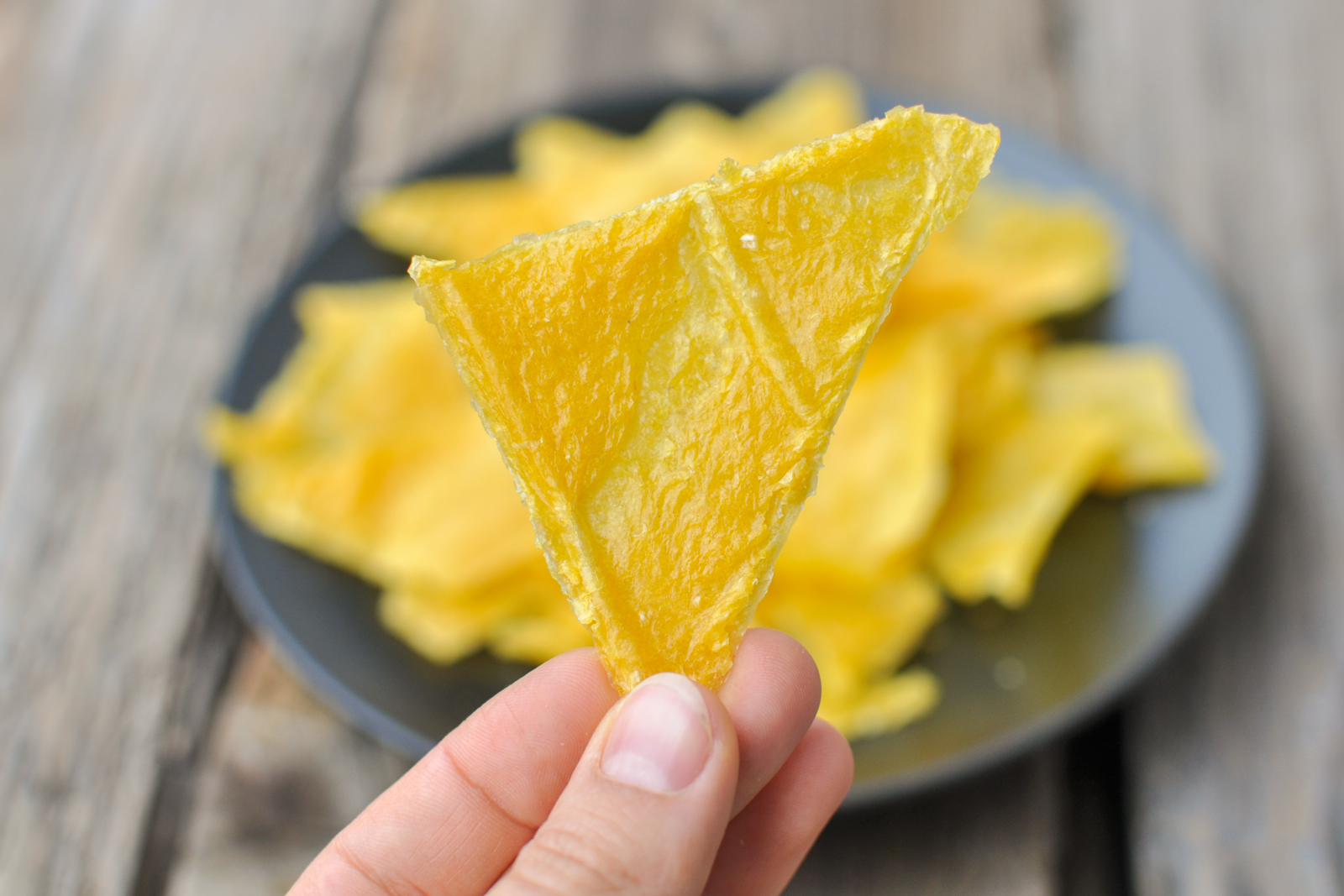 Raw and Healthy Mexican Corn Chips